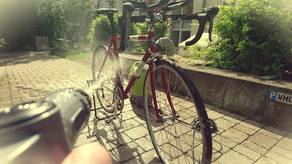 lavar bike com vap