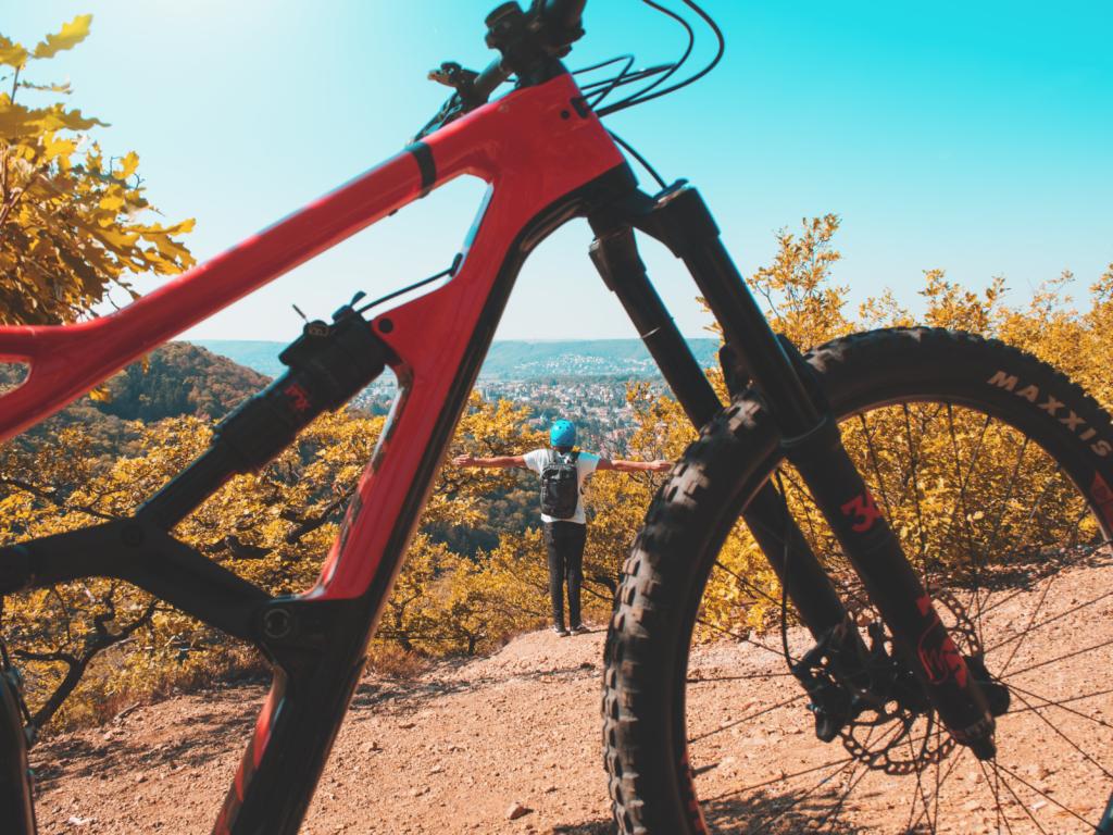 bike vermelha