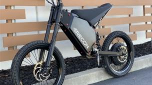 Bike elétrica da Recon.