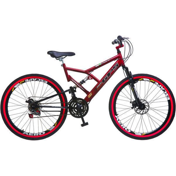 mtb colli bikes vermelha