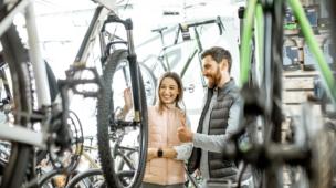 comprar bike na loja física