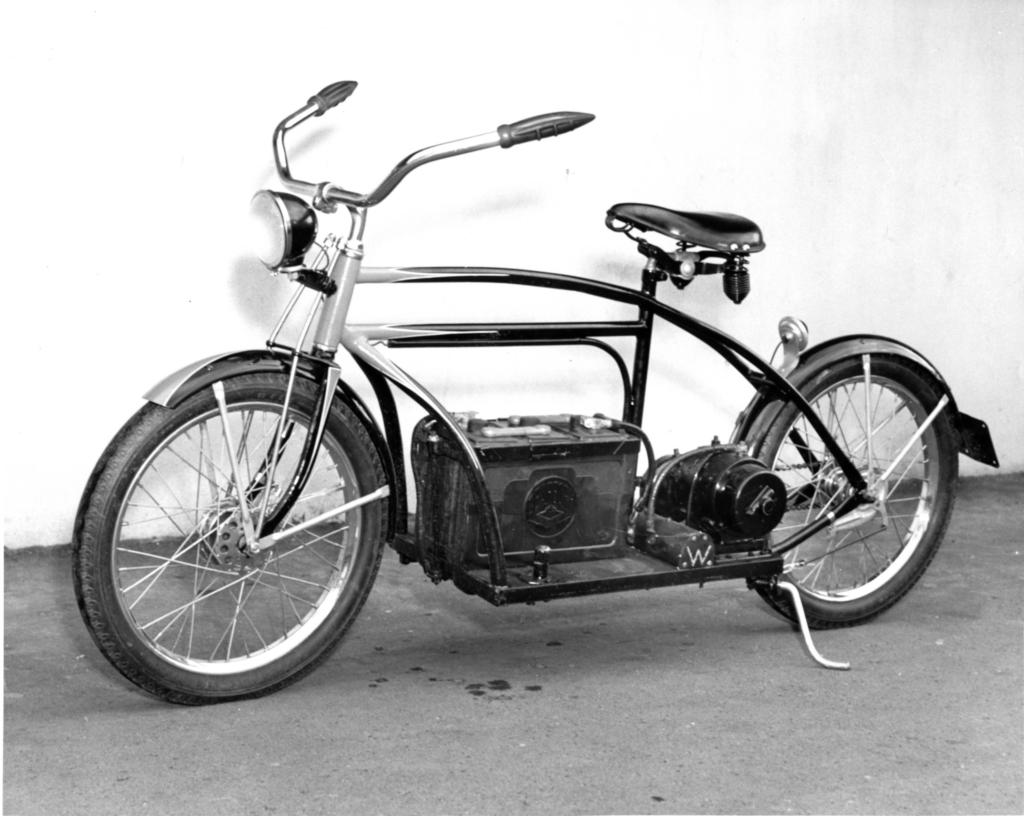 bike elétrica antiga